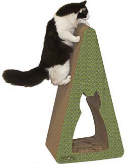 pyramid cat scratcher