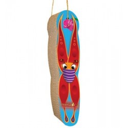 Butterfly hanging scratcher