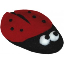A darling little ladybug for your kitty!