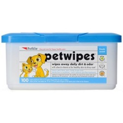 Large size - comes with 100 wipes.