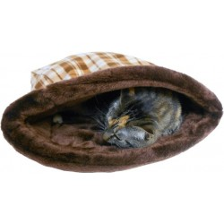 Kitties love to curl up and nap in the Cuddle Bag!