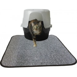 Provides protection all around the litter box