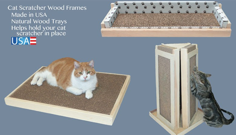 Cat Scratcher Wood Frames