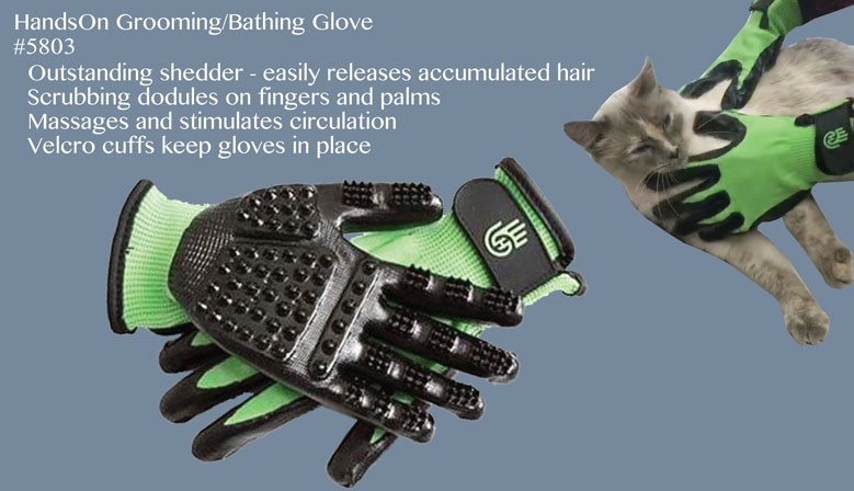 HandsOn Grooming/Bathing Glove