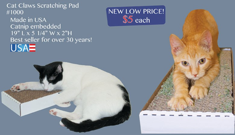 Standard Cat Claws Scratching Pads